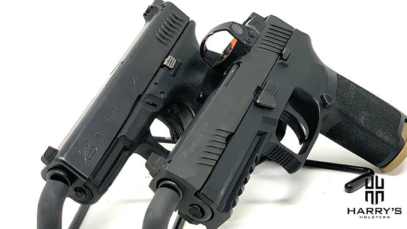 Glock 19 vs Sig P320 side by side