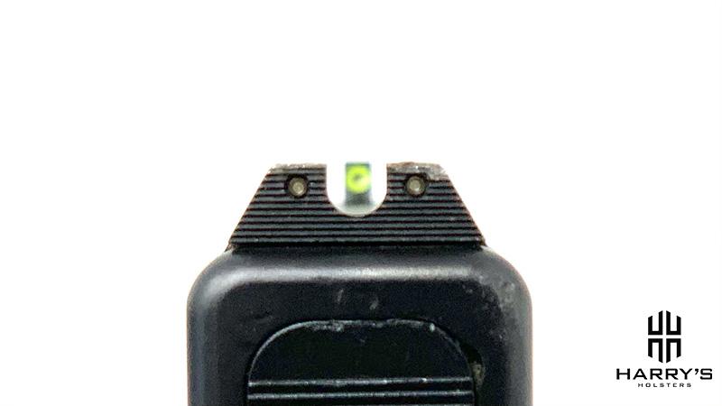Glock 19 vs Sig P320 sights glock