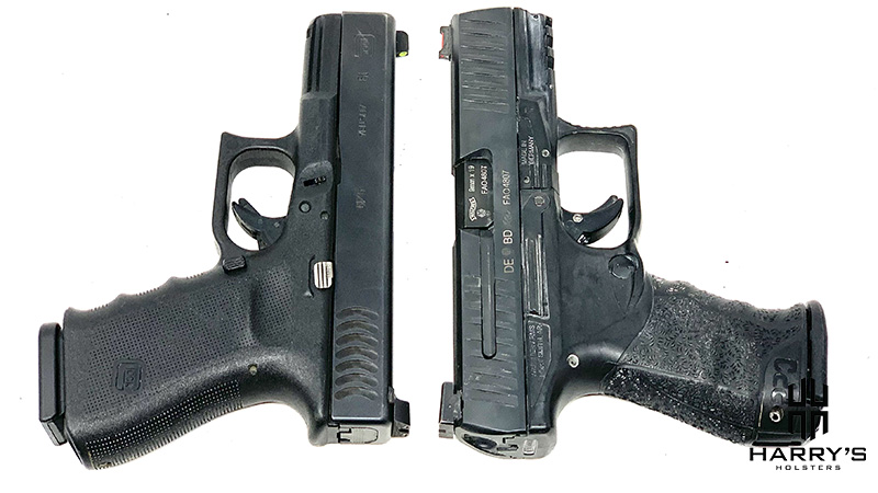 Glock 19 vs Walther PPQ T