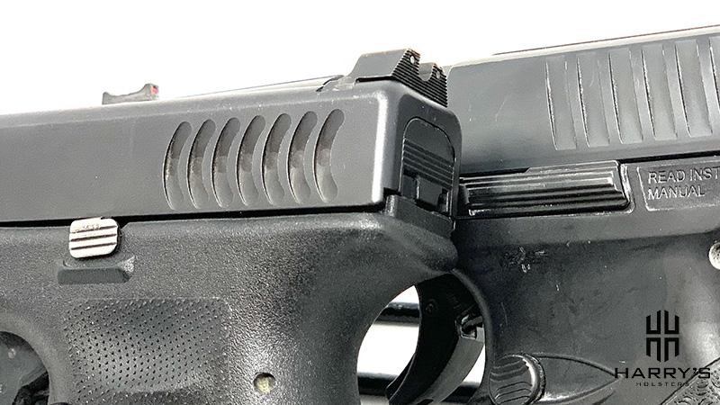 Glock 19 vs Walther PPQ controls