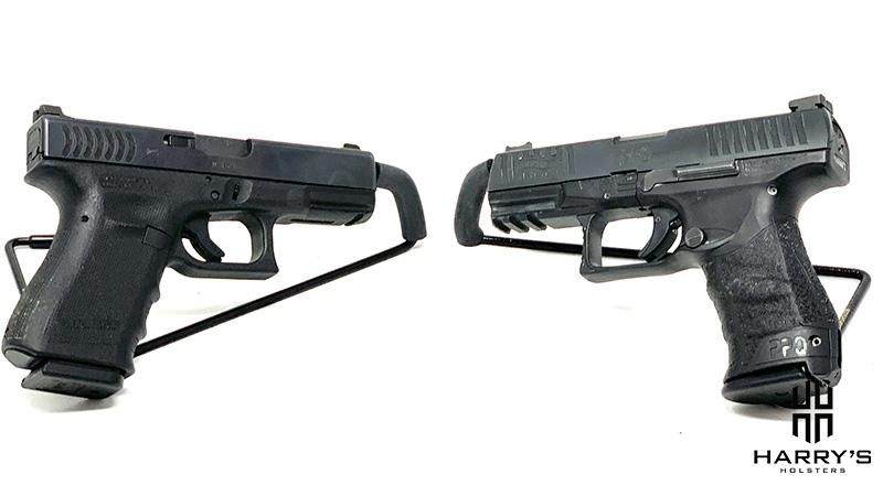 Glock 19 vs Walther PPQ facing