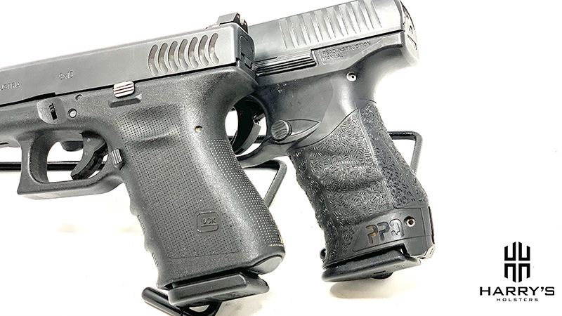 Glock 19 vs Walther PPQ grips