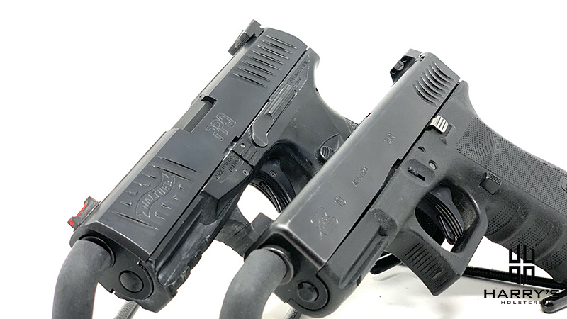Glock 19 vs Walther PPQ side by side