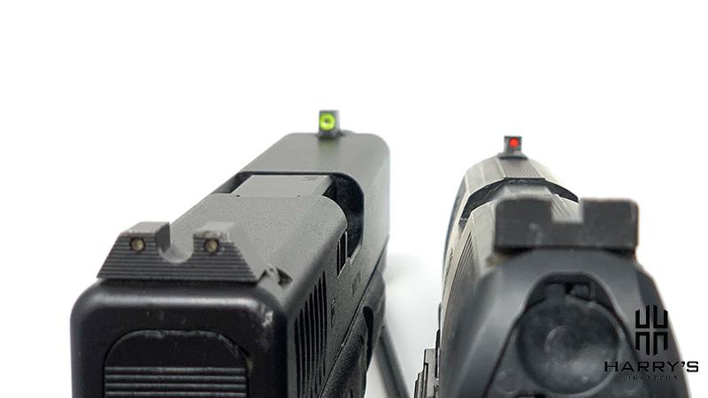 Glock 19 vs Walther PPQ sights