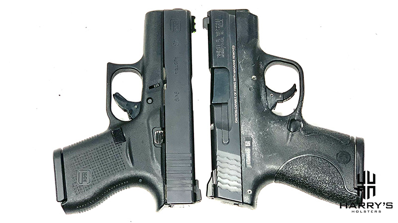 Glock 43 vs SW Shield T