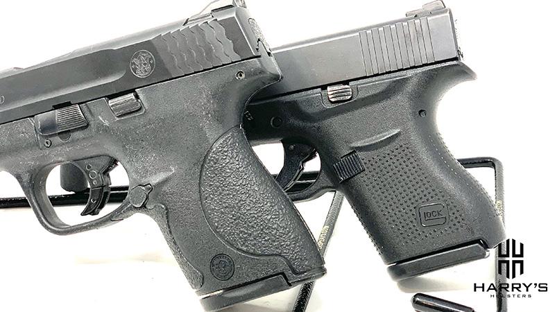 Glock 43 vs SW Shield grips