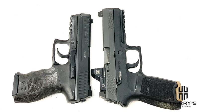 HK P30 vs Sig P320 T