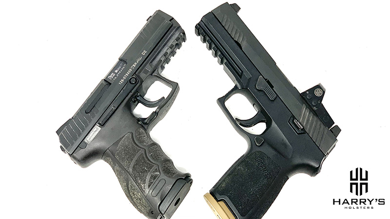 HK P30 vs Sig P320 X