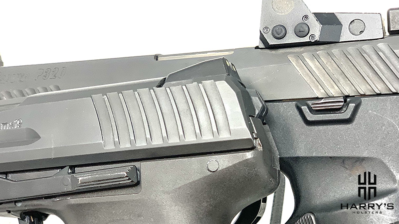 HK P30 vs Sig P320 magazine release