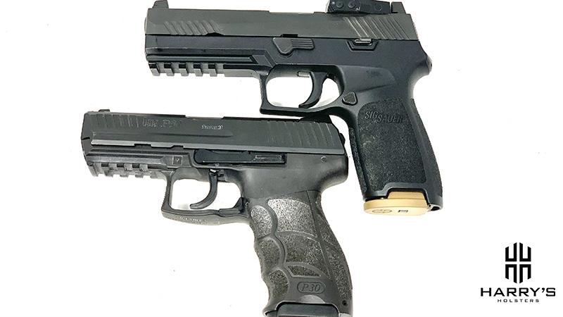 HK P30 vs Sig P320 top