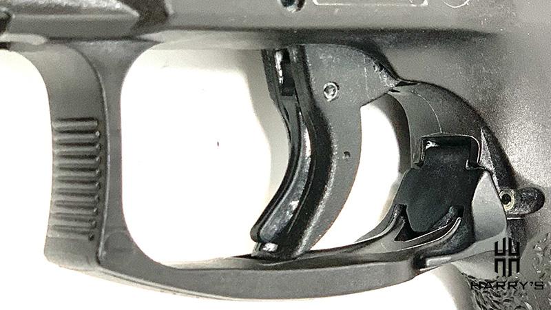 HK VP9 vs Sig P320 X Carry HK trigger