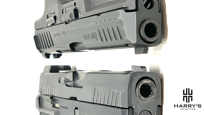 HK VP9 vs Sig P320 X Carry Slides