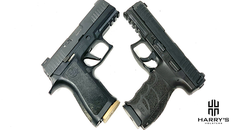 HK VP9 vs Sig P320 X Carry X