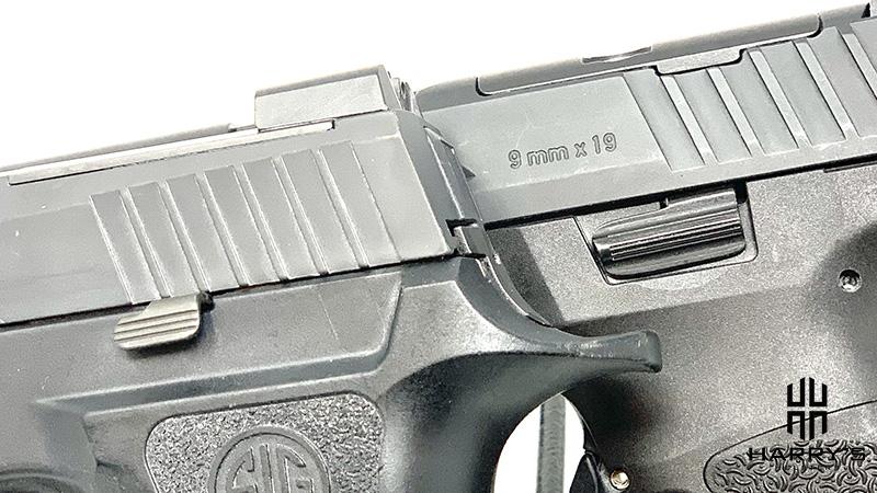 HK VP9 vs Sig P320 X Carry controls