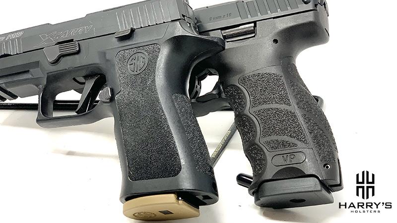 HK VP9 vs Sig P320 X Carry grips