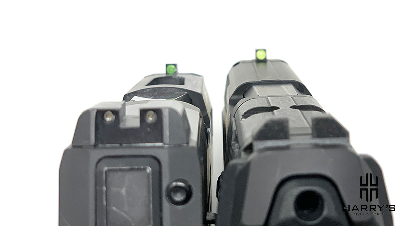 HK VP9 vs Sig P320 X Carry sights