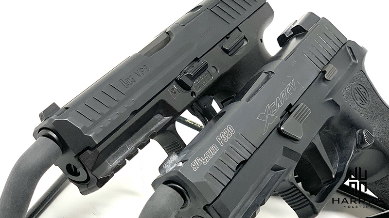 HK VP9 vs Sig P320 X Carry slide