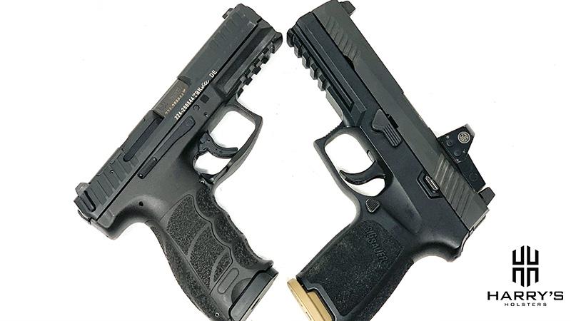 HK VP9 vs Sig P320 X