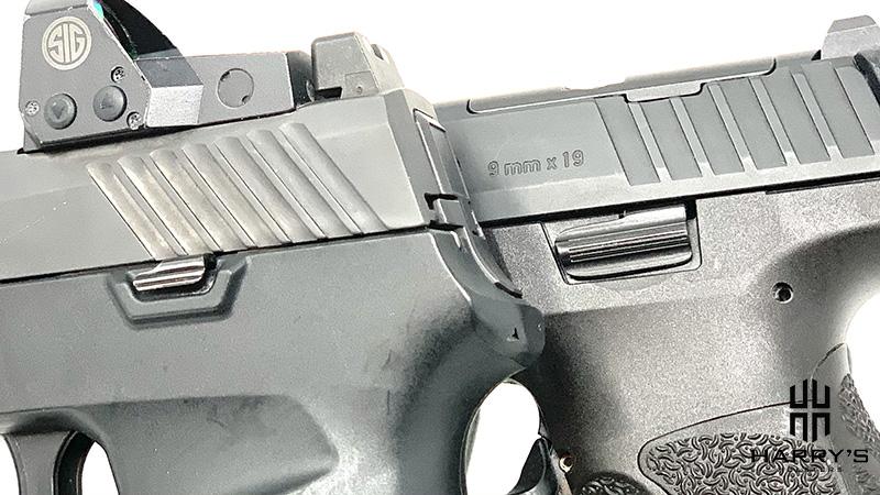 HK VP9 vs Sig P320 controls