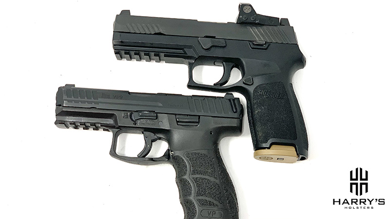 HK VP9 vs Sig P320 top