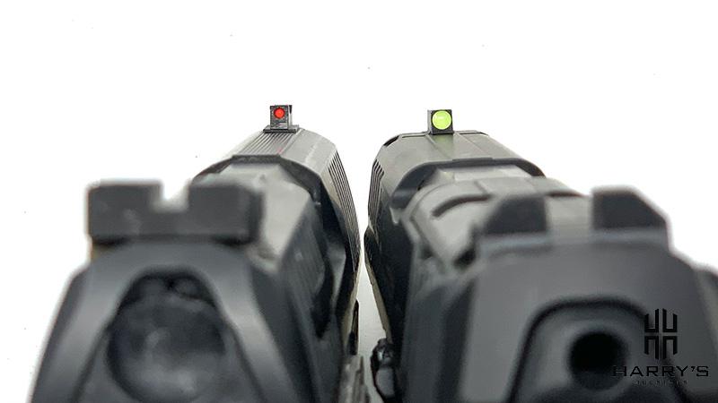 HK VP9 vs Walther PPQ Sights