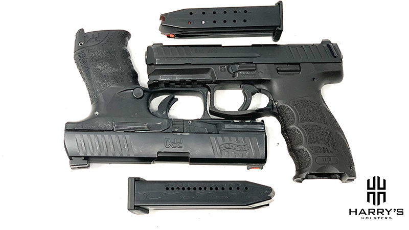 HK VP9 vs Walther PPQ with mags