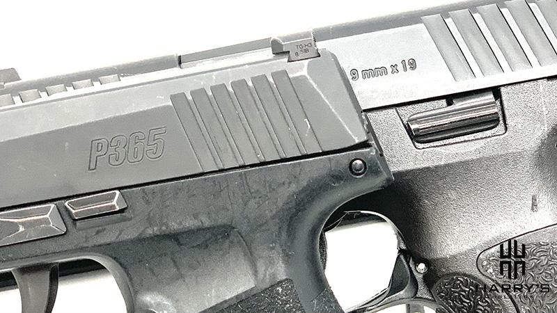 HK VP9SK vs Sig P365 controls
