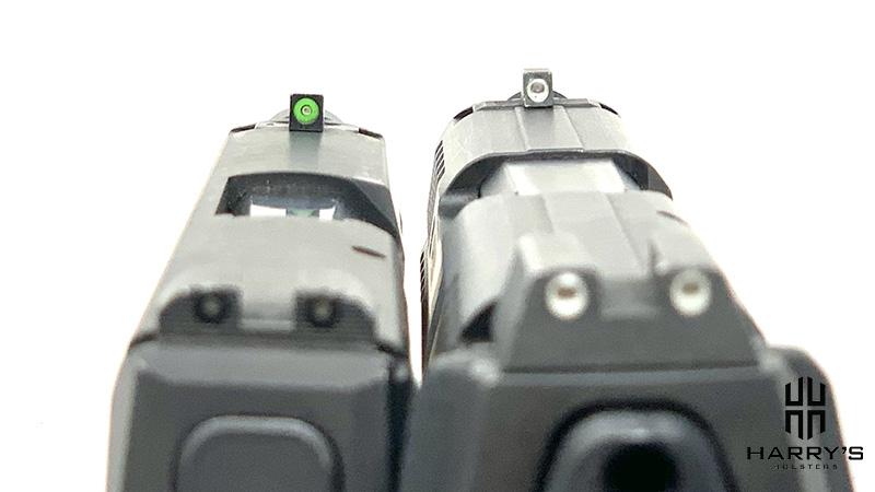 HK VP9SK vs Sig P365 sights