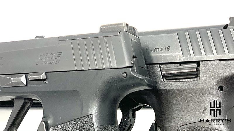 HK VP9SK vs Sig P365XL controls