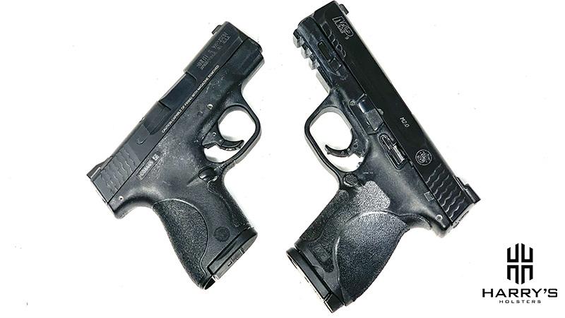 SW M_P 2.0 Compact vs Shield X