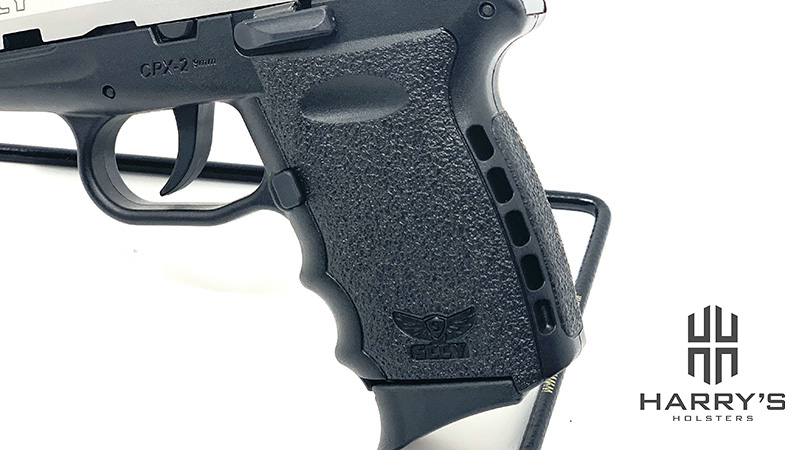 Sccy CPX2 Red Dot grip