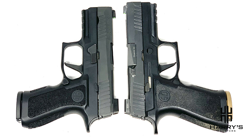 Sig P320 X Carry vs Sig P320 X Compact T