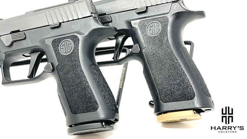 Sig P320 X Carry vs Sig P320 X Compact grips