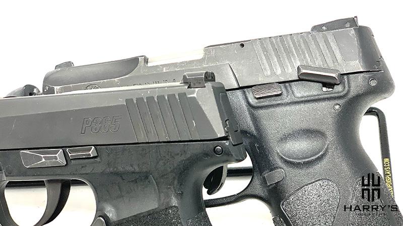 Sig P365 vs Taurus G2 controls