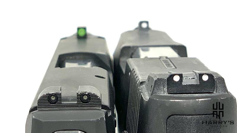Sig P365 vs Taurus G2 sights