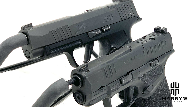 Sig P365XL vs Springfield Hellcat side by side