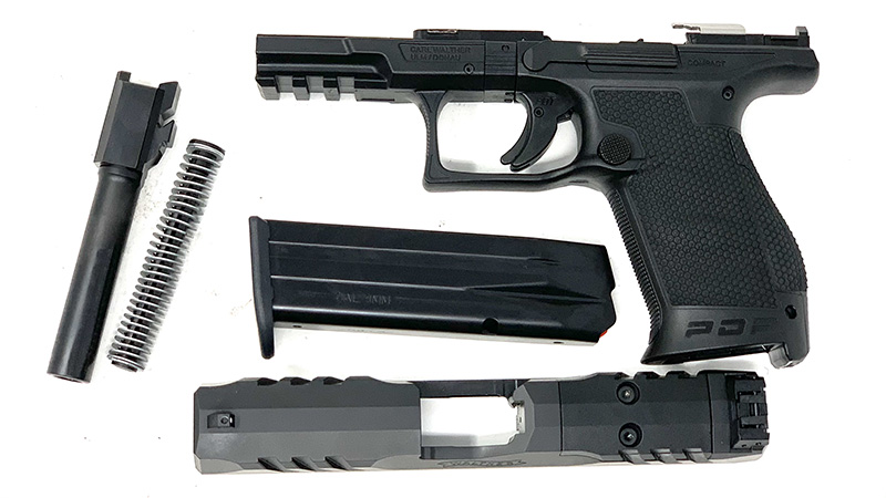 Walther PDP Disassembled