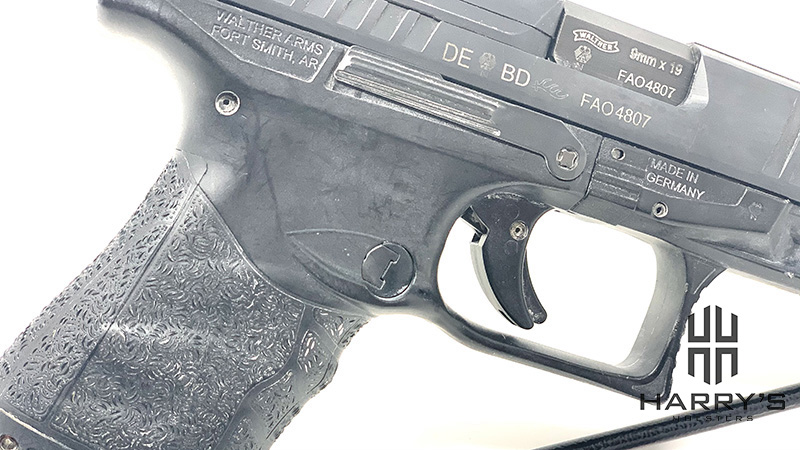 Walther PPQ M2 slide stop right