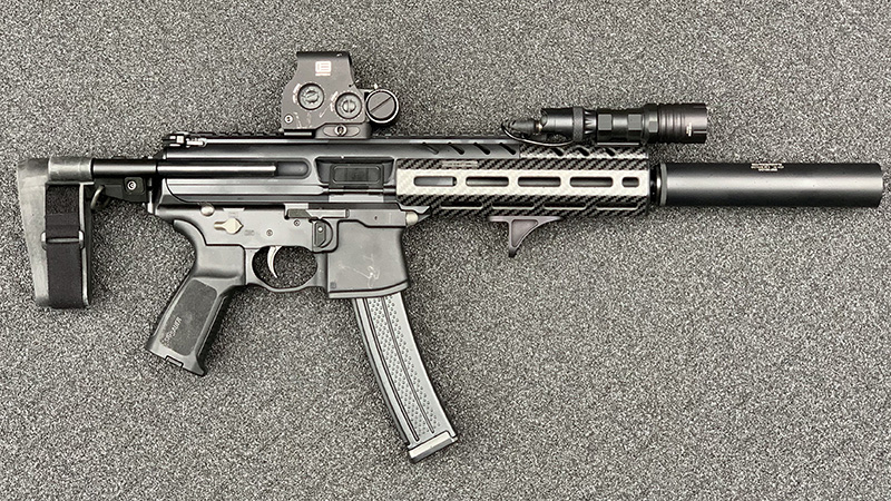 Sig MPX Collapsed Brace Right