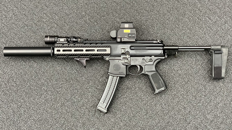Sig MPX Left