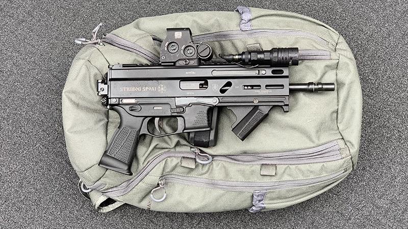 Stribog SP9A1 Backpack