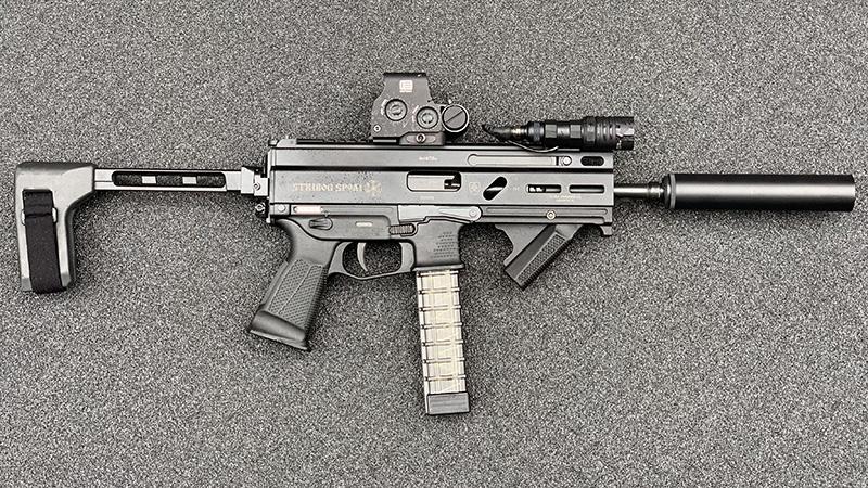 Stribog SP9A1 Suppressed Right