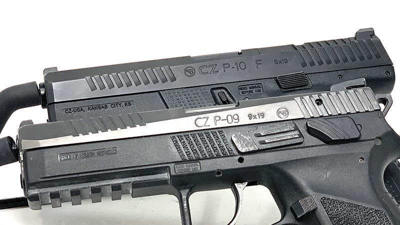 CZ P09 vs P10 Cover