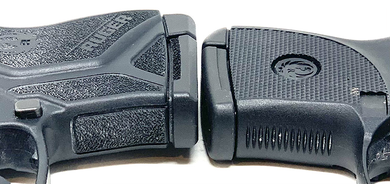Ruger LCP vs LCP 2 Front straps
