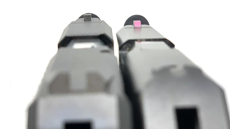 Ruger LCP vs LCP 2 Sights