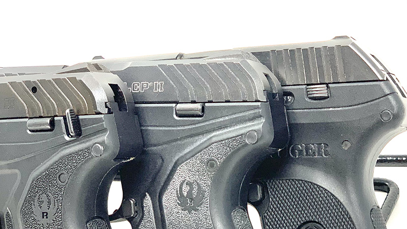 Ruger LCP vs LCP 2 Slide Stops