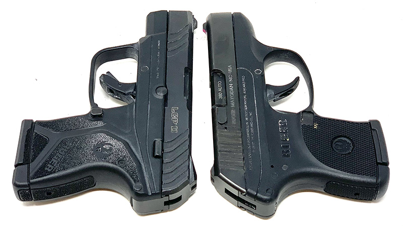 Ruger LCP vs LCP 2 T