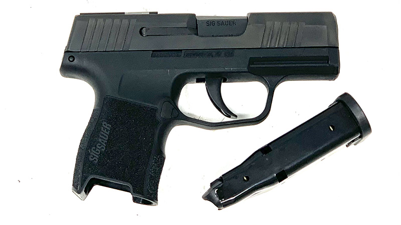 Sig P365 SAS Review with magazine right