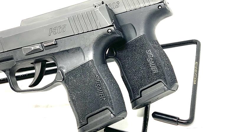 Sig P365 SAS vs P365 Grip