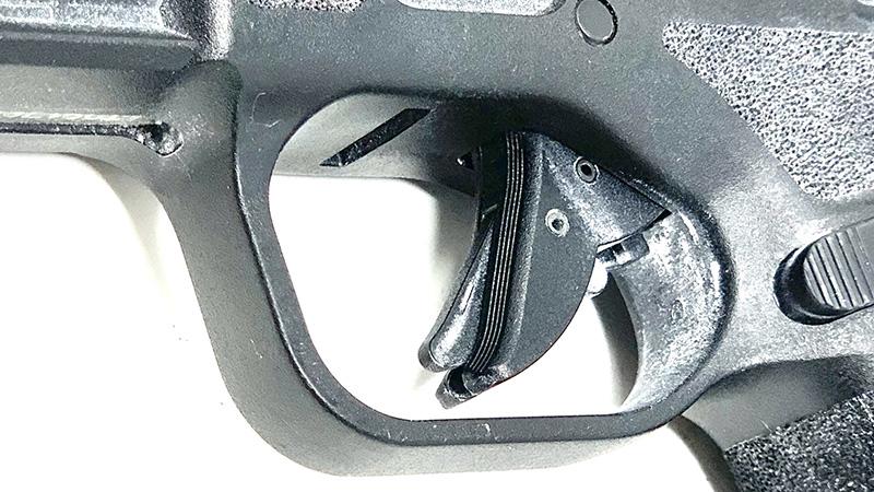 Springfield Hellcat vs Sig P365 SAS Hellcat trigger